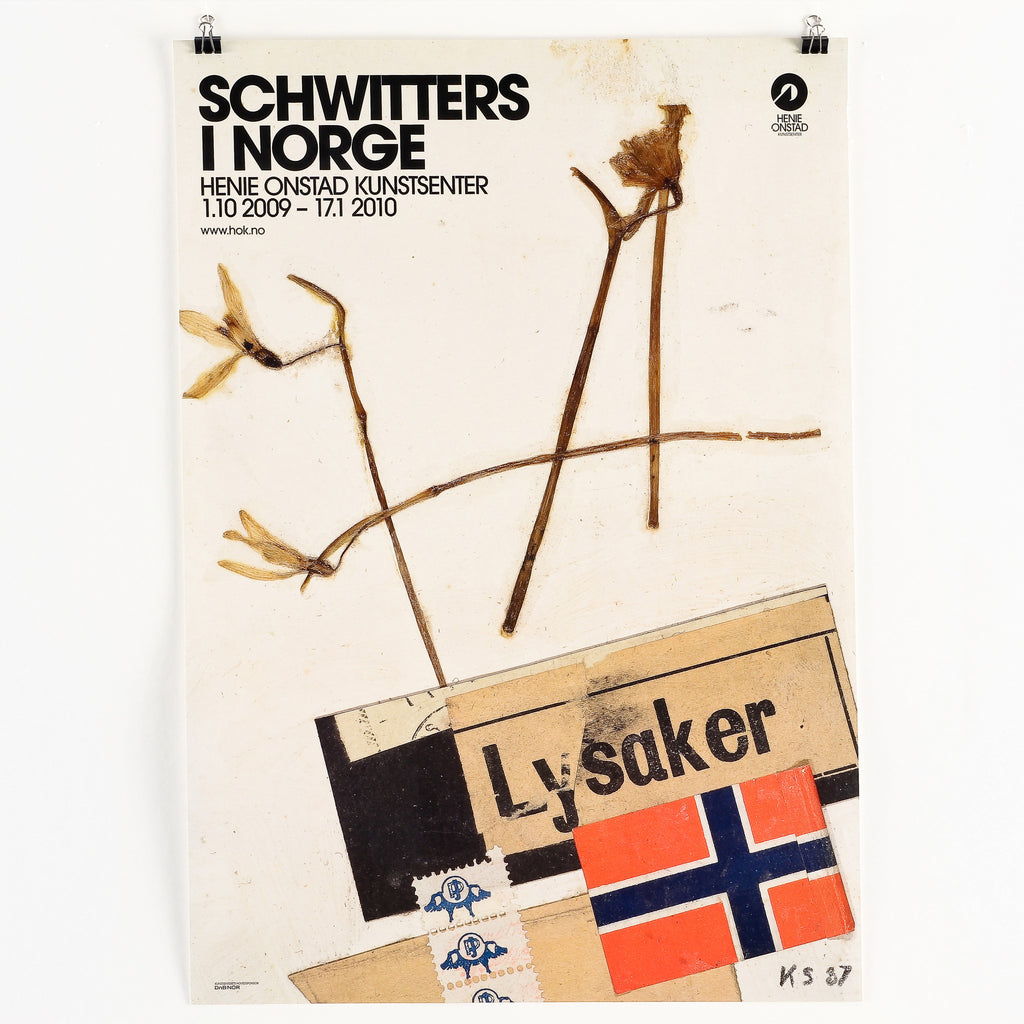 Schwitters in Norway Plakat