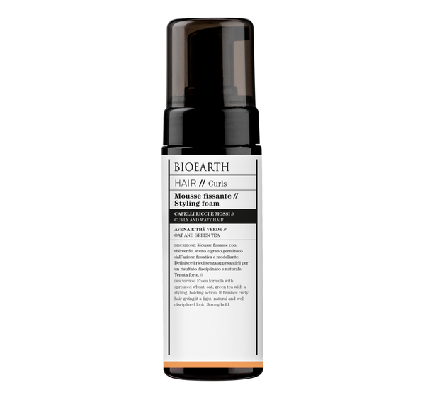 Bioearth Hair 2.0 Mousse Fissante 150 ml