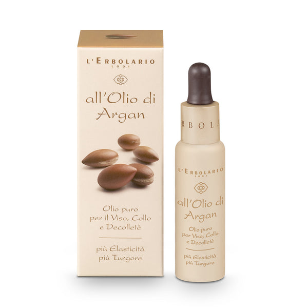 All'Olio di Argan - Olio puro per Viso, Collo e Decolleté