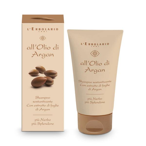All'Olio di Argan - Shampoo Sostantivante