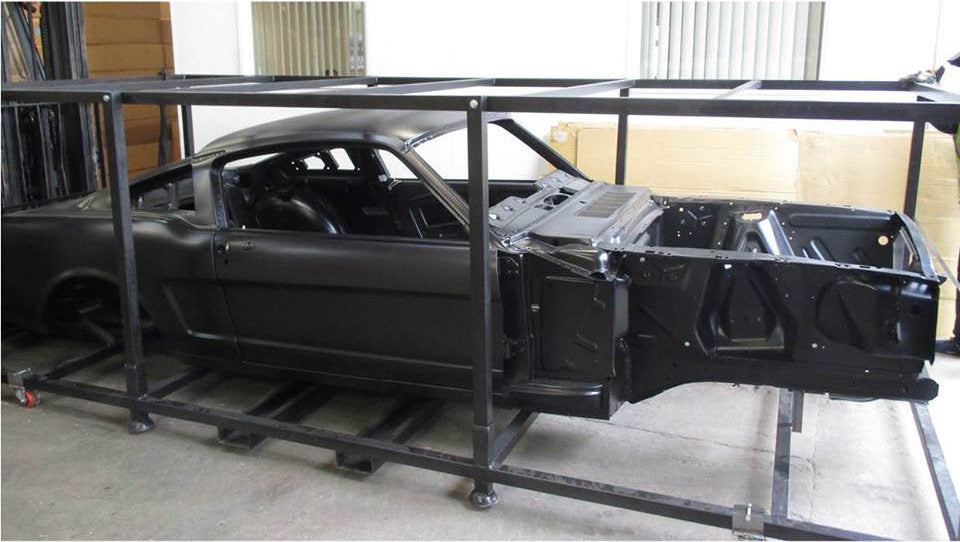 Reproduction Mustang Bodyshells Now Available
