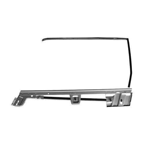 mustang door window frame kit convertible 67 68 rh - Window Frame Kit