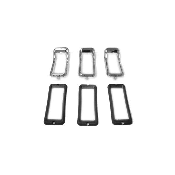 Mustang Tail Lamp Bezel Set 67