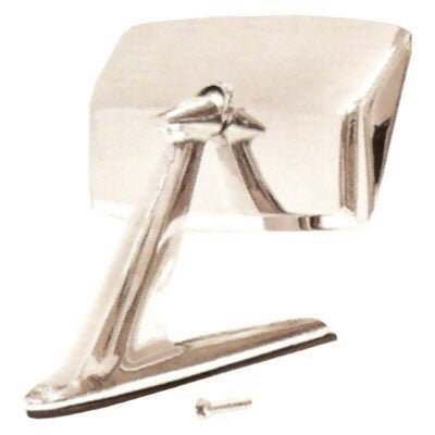 Mustang Exterior Door Mirror Standard Chrome 67-68