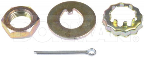 Mustang Front Hub Spindle Nut and Retaining Washer 3/4-16 Thread