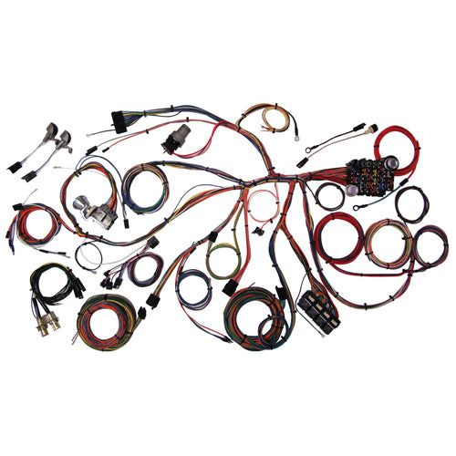 American Auto-Wire Classic Update Series Wiring Harness Kit 67-68