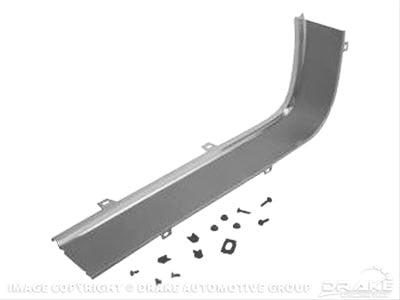 Mustang Grille Moulding Wide LH 67-68