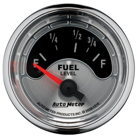 Autometer Traditional American Muscle Series Fuel Level Gauge for Early Ford Senders