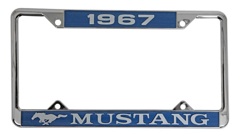 Mustang License Plate Surround 1967