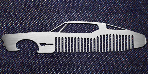 The Boattail Comb & Bottle Opener