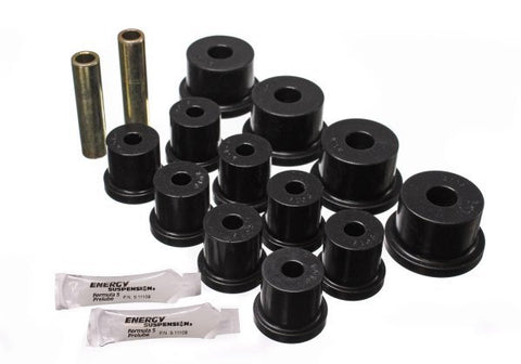 "Energy Suspension Mustang Rear Leaf Spring Polyurethane Bush Kit (1/2"" Shackle) 64-73"