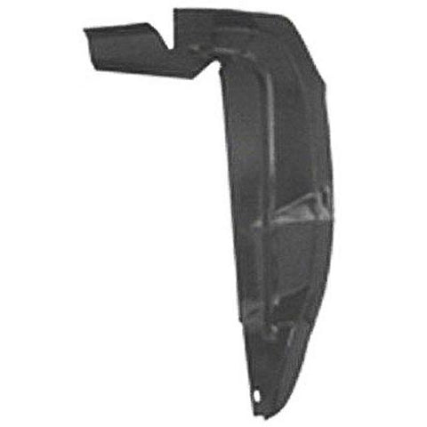 Mustang Inner Fender Splash Shield Rear LH 67-68