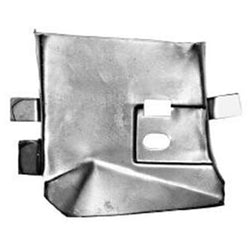 Mustang Front Wing Apron Rear Extension LH 67-68