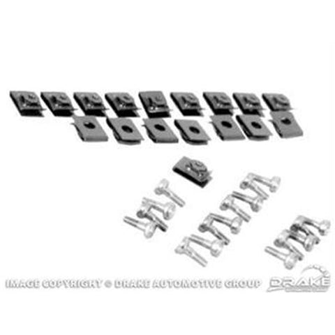 Mustang Convertible Top Boot Snap Kit 64-66