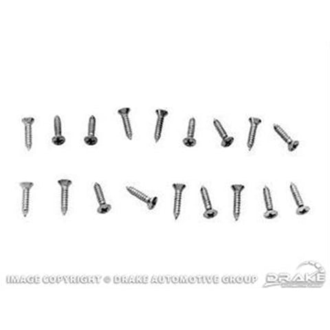 Mustang Sill Protector Screw Kit