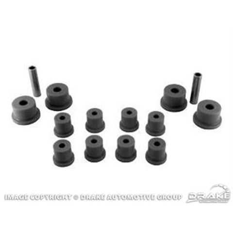 Mustang Rear Leaf Spring and Shackle Bush Kit 65-73