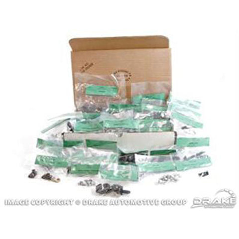 Mustang Master Body Bolt Kit 1970