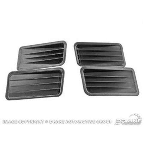 Mustang Quarter Panel Ornaments 1967
