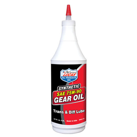 Lucas Oil Synthetic Gear Oil - Quart