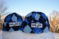 BLUE ARGYLE YOOPER CHOOK