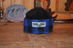 ROYAL BLUE TWO TONE BUFFALO PLAID YOOPER CHOOK