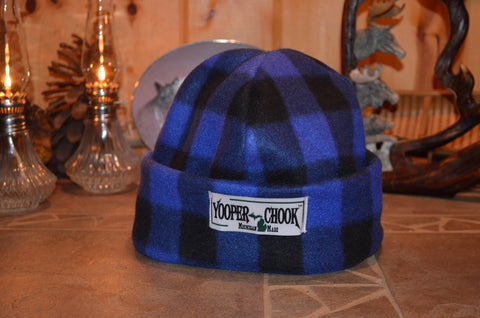 ROYAL BLUE BUFFALO PLAID YOOPER CHOOK