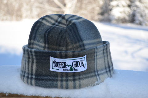 GREY PLAID YOOPER CHOOK