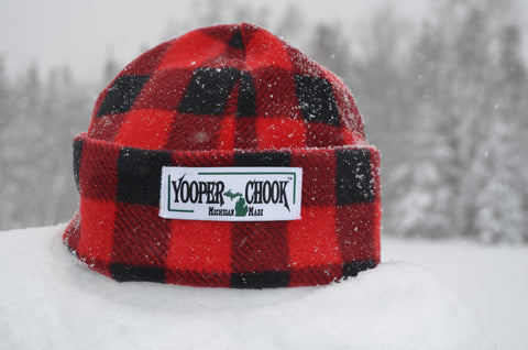 RED BUFFALO PLAID YOOPER CHOOK