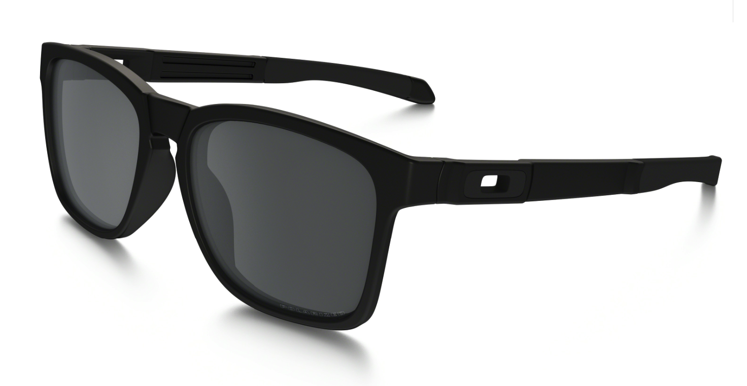 6704e76503 Oakley Polarized Plaintiff Squared Sunglasses Matte Black « One More ...