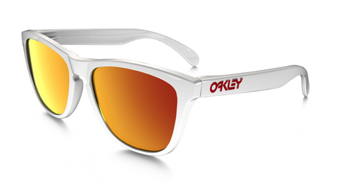 Oakley Frogskins Polished White Ruby Iridium Solbriller
