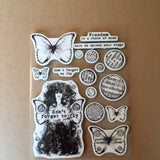 Don't Forget to Fly Rubber Stamp Set