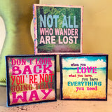inspirational art canvas