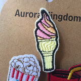 Flair Pins :: Ice Cream, Pop Corn, Soda Pop