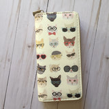Kitty Cats with Eyeglasses and Sunglasses Wallet