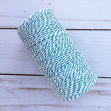 Baby Blue Bakers Twine - 100 yards Cotton