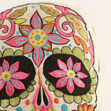 Day of the Dead Pillow ~ Green