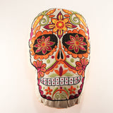 Day of the Dead Pillow ~ Orange