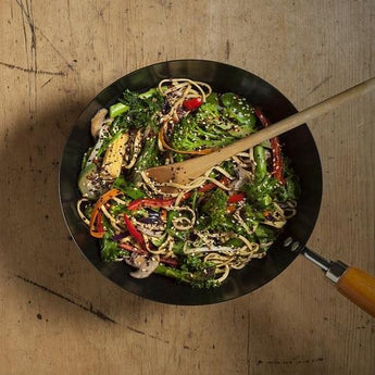 Singapore Noodles with Furikake