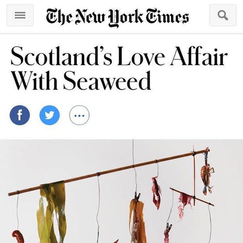 Mara Seaweed in New York Times magazine