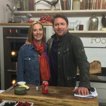 Fiona Houston talks to James Martin's Saturday Morning on ITV