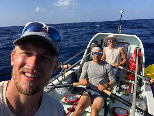 World record-breaking rower reveals his recipe for isolation success