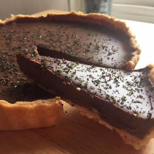 Chocolate Tart with Shony