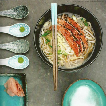 Seriously Special Salmon Ramen with Dulse