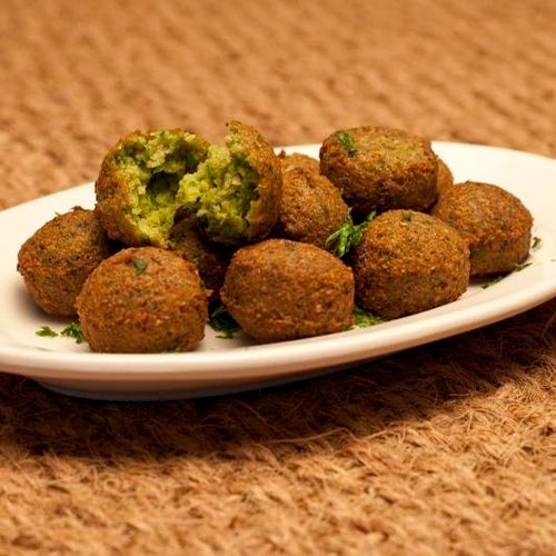 Falafels made with Mara Seaweed