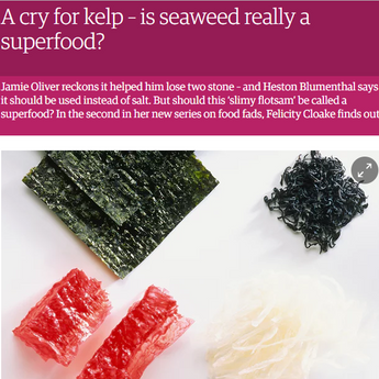 Mara Seaweed in Guardian Food