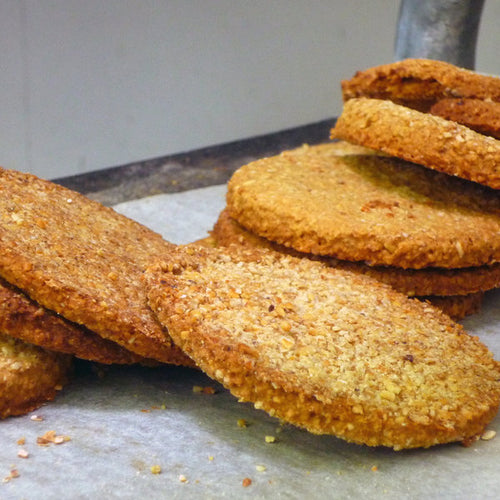 Rolled Oatcakes with Kombu and Dulse