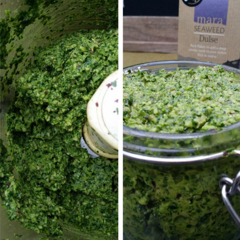 Detox Coriander Pesto with Dulse