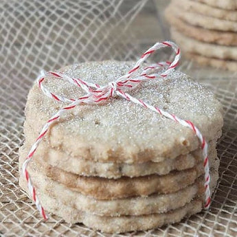 Orkney Beremeal Shortbread Biscuits with Dulse