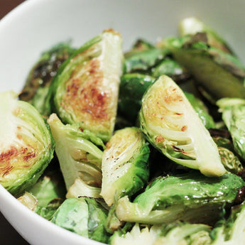 Roasted Brussels Sprouts with Furikake