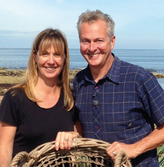 Nick Nairn and Fiona Houston